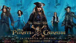 Pirati dei Caraibi - La vendetta di Salazar: al cinema il quinto capitolo della saga