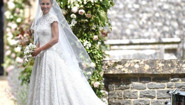 Il bouquet da sposa minimalista di Pippa Middleton