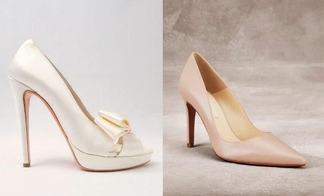3dd63e6e886d Quando si parla di scarpe da sposa difficilmente si riesce a mettere tutte  d accordo perché ci sono donne che preferiscono calzare qualcosa di basso e  ...