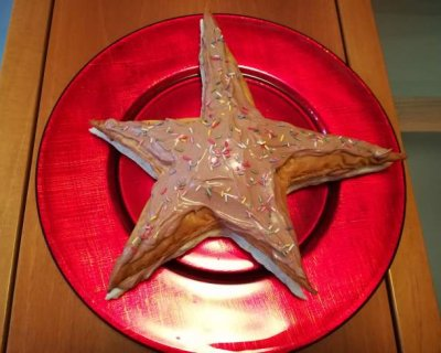 Stella di sfoglia al mascarpone, la dolcezza del Natale