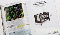 Pubblicità Ikea test gravidanza