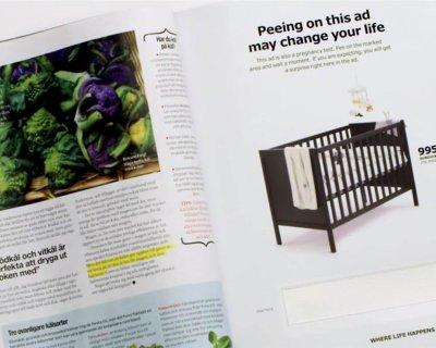 La pubblicità è un test (di gravidanza)