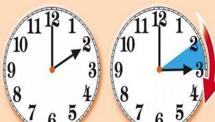 Torna l'ora legale: nella notte tra il 24 e il 25 marzo lancette in avanti!