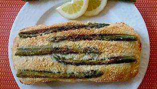 Plumcacke agli asparagi