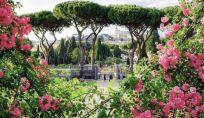 Roseto comunale a Roma