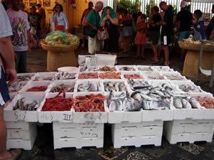 Mercato del pesce Salento