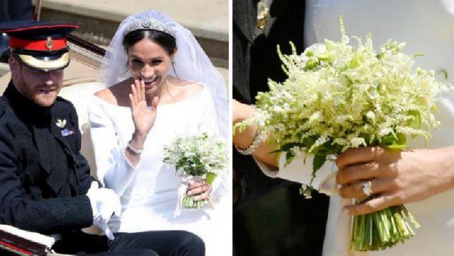 Il bouquet da sposa di Meghan Markle: semplice ma ricco di significato