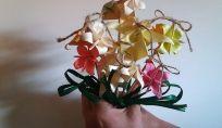 Bouquet da sposa con gli origami