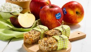 Barrette di mele, uno snack salutare da preparare in casa