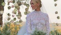 Il bouquet da sposa di Chiara Ferragni