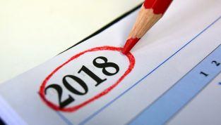 Gli eventi più importanti del 2018