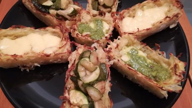 Cestini di patate, un antipasto gustoso e versatile