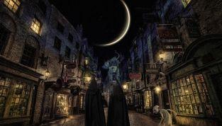Natale nella scuola di magia di Harry Potter