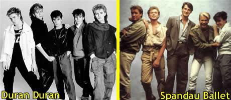 Duran Duran e Spandau Ballet