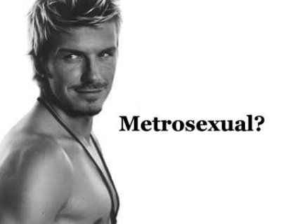 Uomo metrosexual