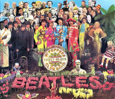 Copertina Sgt. Pepper's Lonely Hearts Club Band