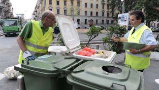 Controllo rifiuti differenziati