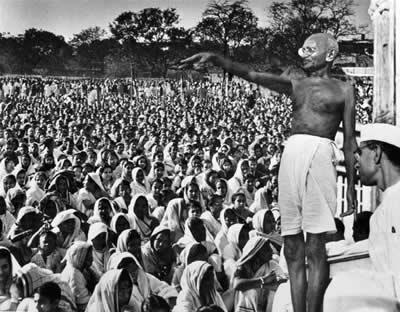 Non violenza di Mahatma Gandhi