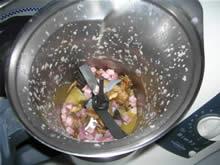 Funghi porcini e pancetta dopo la cottura