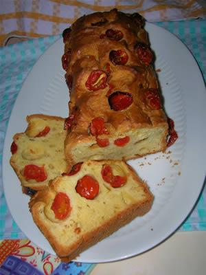 Ricetta Bimby plum cake con i pomodorini