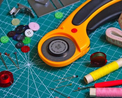 Palla natale patchwork