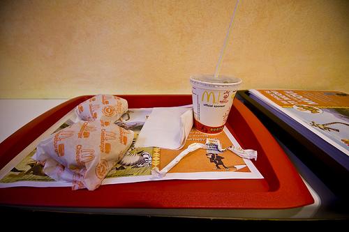 Vassoio McDonald's