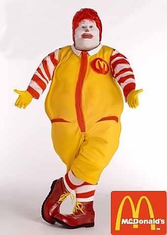 Ronald McDonald's grasso