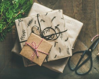 Pacchi regalo ecologici