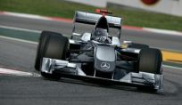 Michael Schumacher Formula Uno in Mercedes