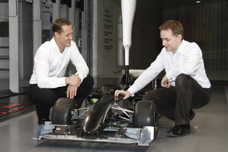 Michael Schumacher Mercedes GP
