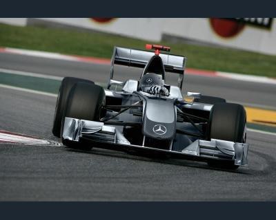 Michael Schumacher Formula Uno in Mercedes