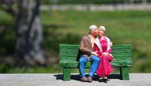 Aumentano i divorzi tra le coppie over 60
