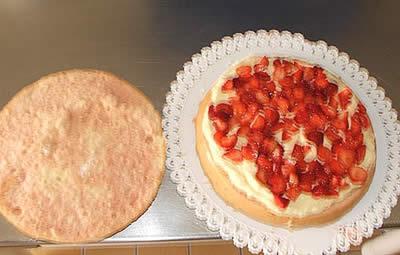 Farcitura torta alle fragole