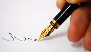 Scompare la scrittura a mano