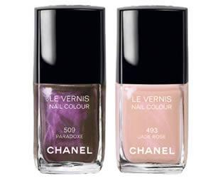 Nuovi smalti Chanel per l'autunno inverno 2010 2011