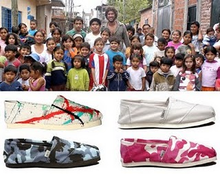 Progetto One for One Toms shoes
