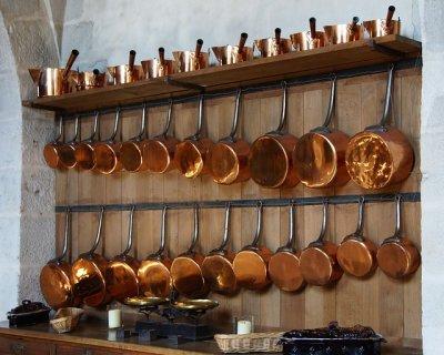 Pentola in oro, prezioso alleato in cucina