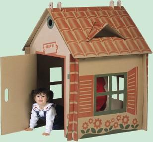 Arredamento in cartone - Costruire mobili in cartone ...