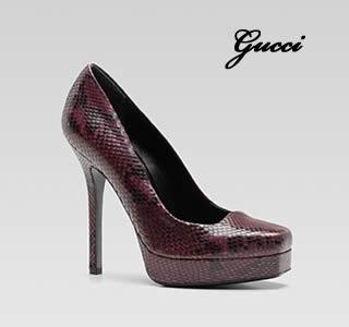 Scarpa con plateau Gucci
