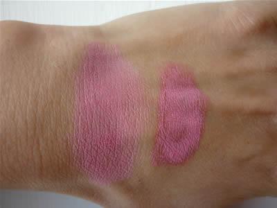 Swatch blush Soho Neve Make Up