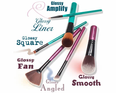 Set pennelli Glossy di Neve Makeup