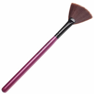 Pennello Glossy Fan Neve Makeup