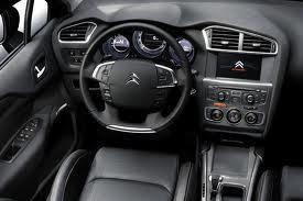 Nuova Citroën C4 design interno