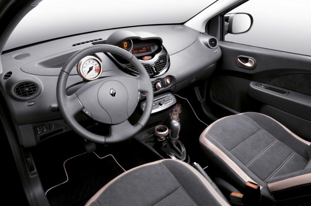 Interni nuova Renault Twingo Miss Sixty