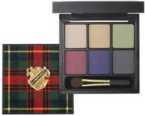 Palette Twists of Tartan collezione Tartan Tale di Mac