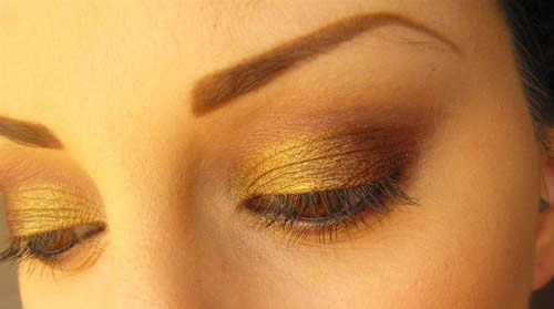 Make up semplice per capodanno