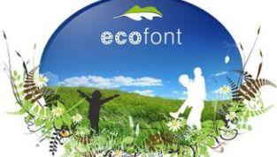 Ecofont fa risparmiare inchiostro