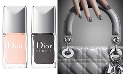 Smalti collezione Gris Montaigne Dior primavera 2011