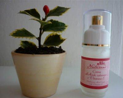 Crema viso all'acido ialuronico e vitamina E Naturans