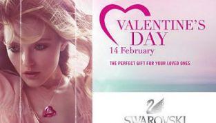 Collezione Swarovski San Valentino 2011